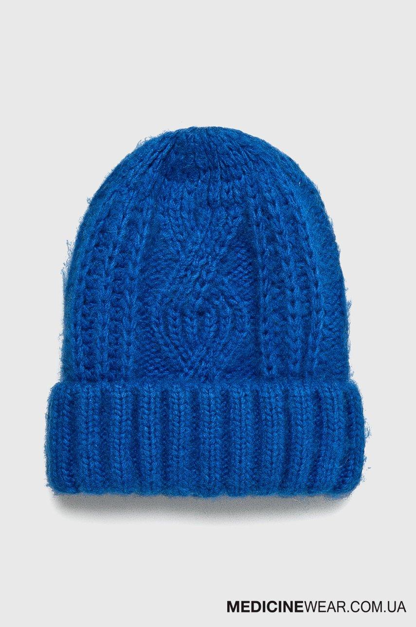 Шапка жіноча BASIC RW18-CAD701 - колір  Синій  192a9033292fb