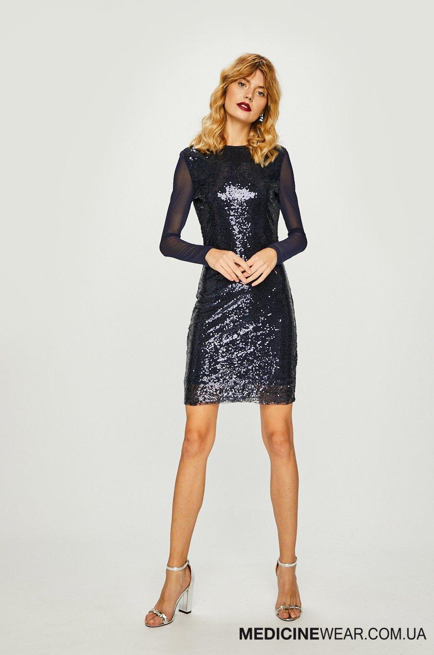 Сукня жіноча SPARKLES RW18-SUDB02 - колір  Темно-синій  38cba281ee815